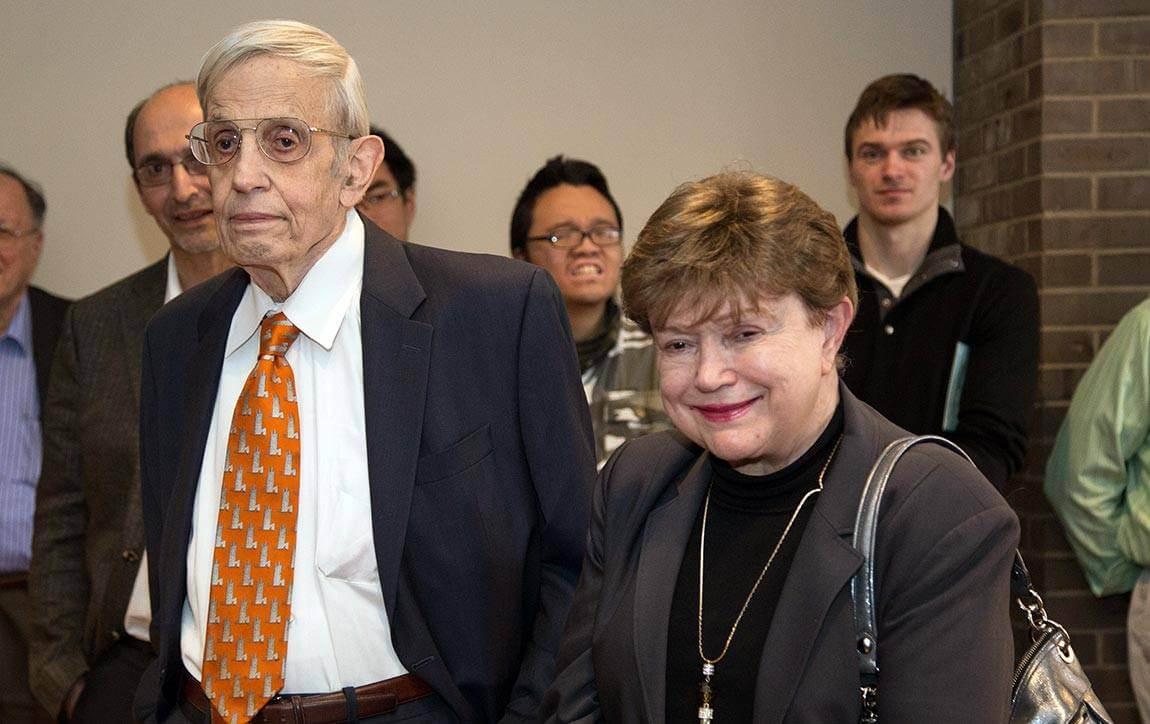 John and Alicia Nash at Princeton