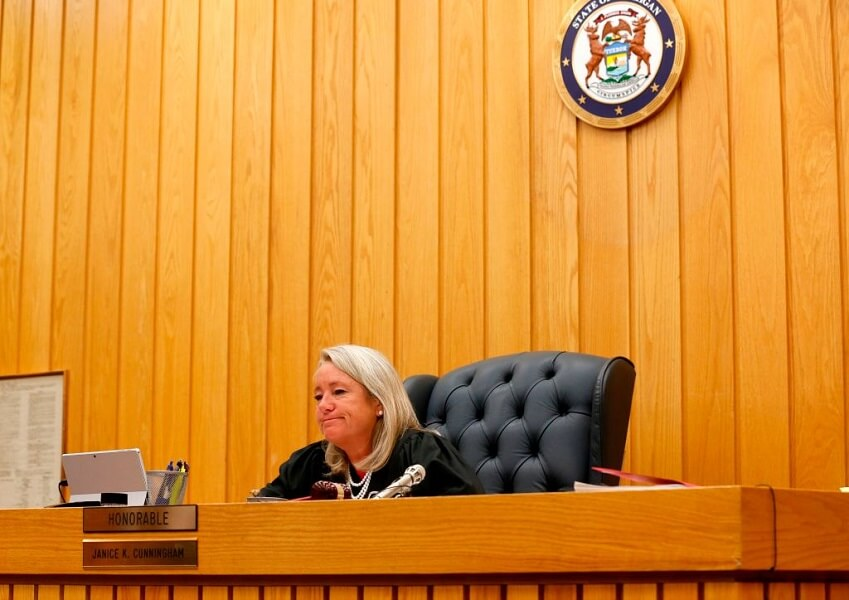 A judge ready for sentencing in the CUC International scandal