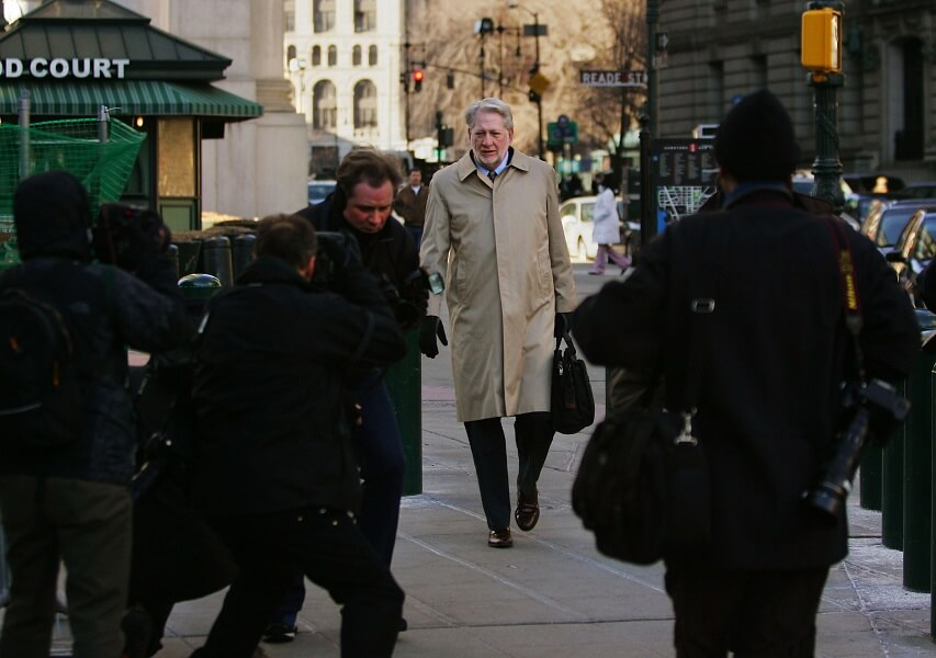 Bernie Ebbers is serving 25 years in prison for fraud