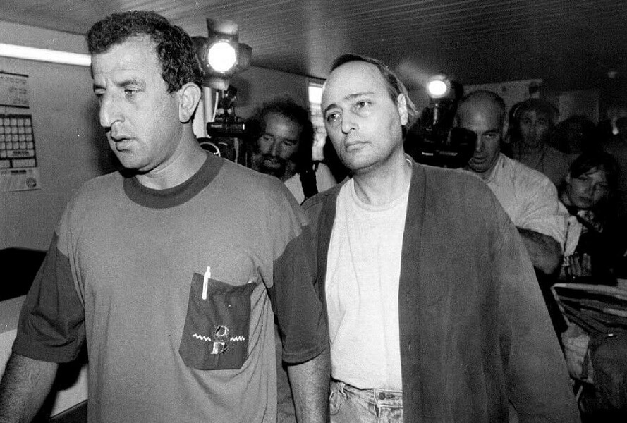 Crazy Eddie was caught in Israel in 1992 and brought back to the United States for his fraud trial