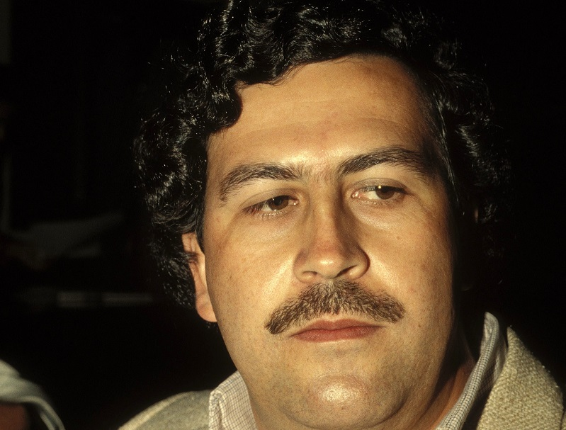 Pablo Escobar smuggled drugs and was a successful politician