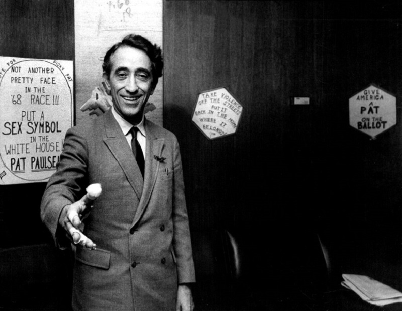 Pat Paulsen ran for office multiple times after his comedy career ended.