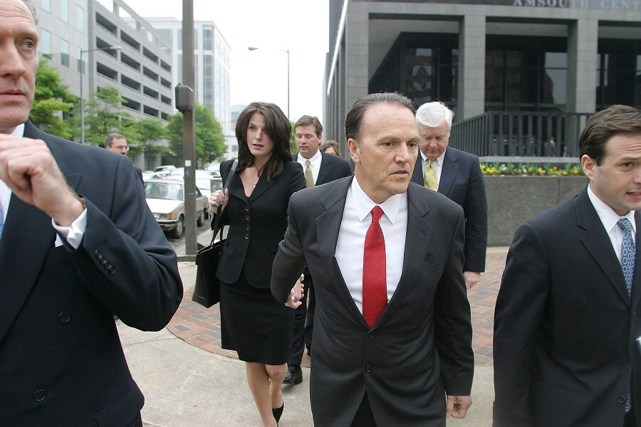 Richard Scrushy was forced to repay HealthSouth billions of dollars after being sued for fraud