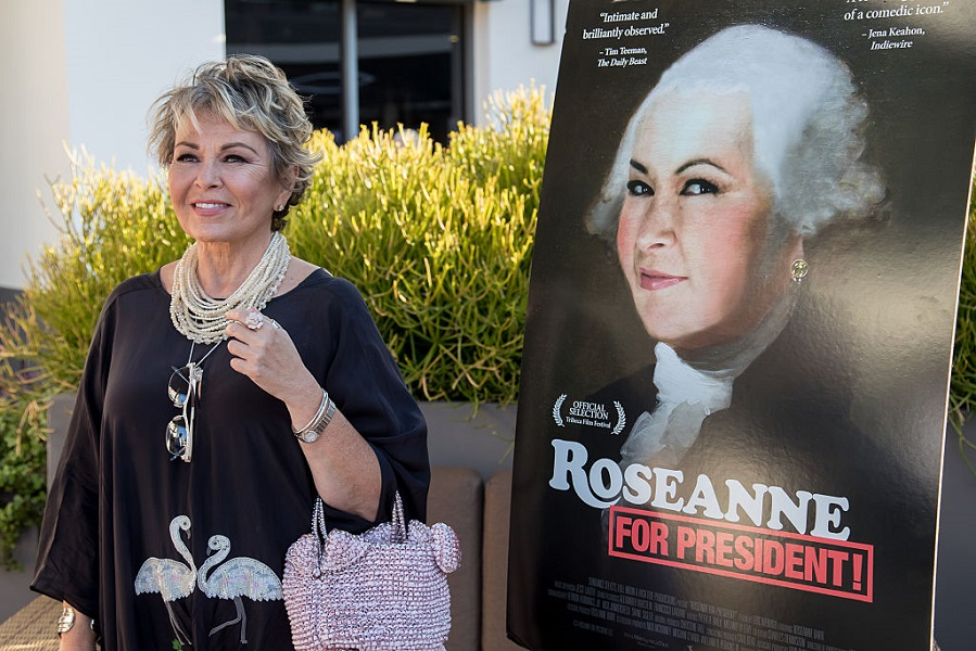 Roseanne Barr ran unsuccessfully for president in 2012
