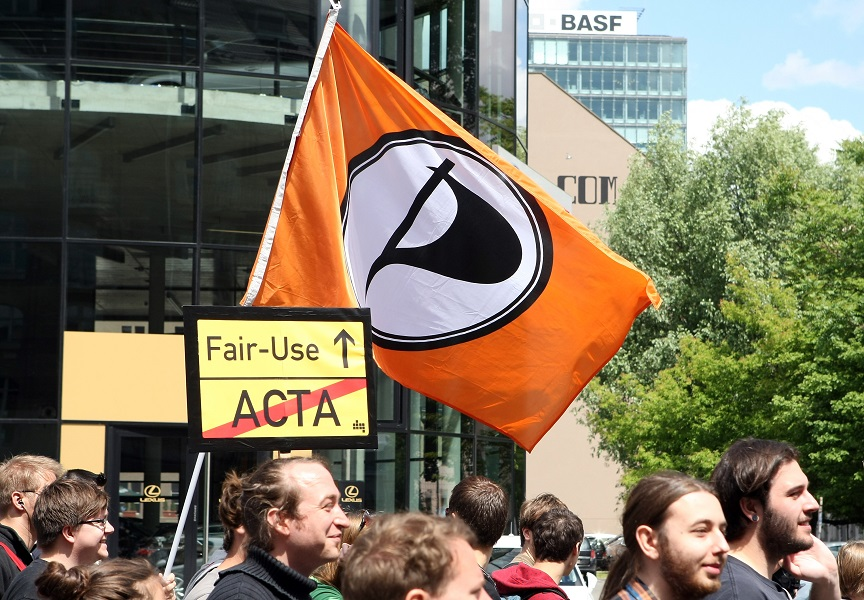 The Pirate Party believes in fair use and free downloads!