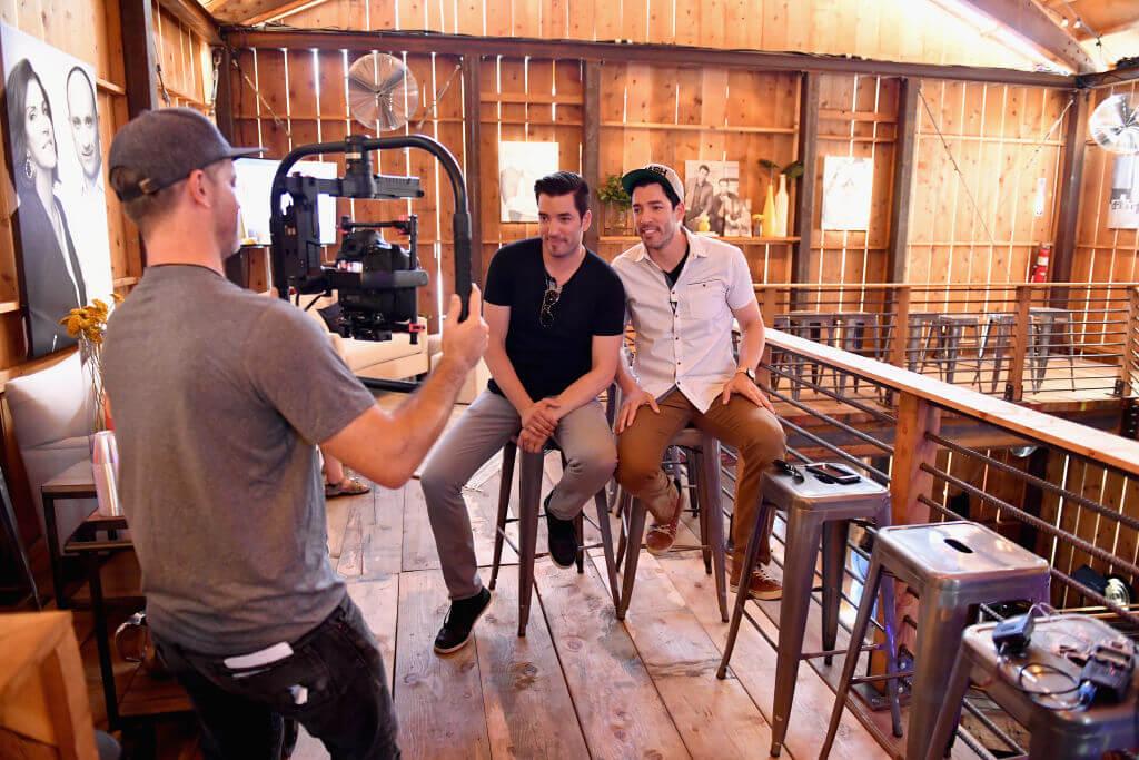 Jon and Drew Filming