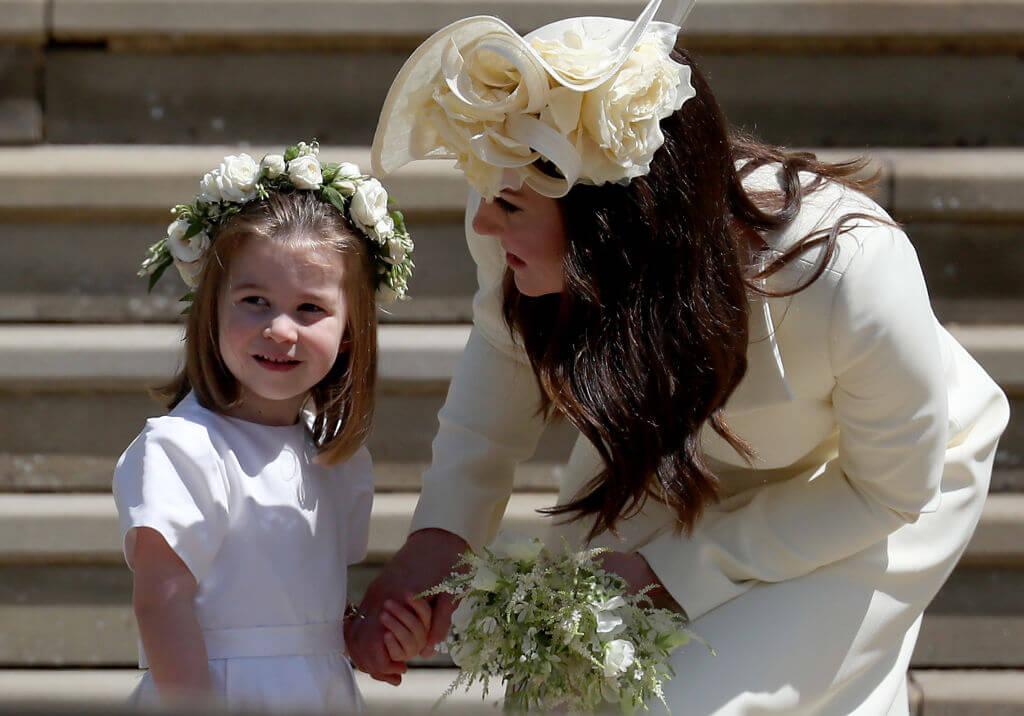 Princess Charlotte and Kate