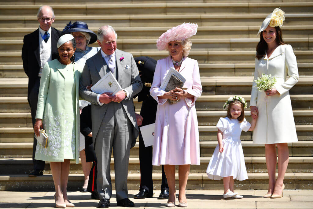 Doria Ragland, Prince Charles, Camilla the Duchess of Cornwall, the Duchess of Cambridge & Princess Charlotte