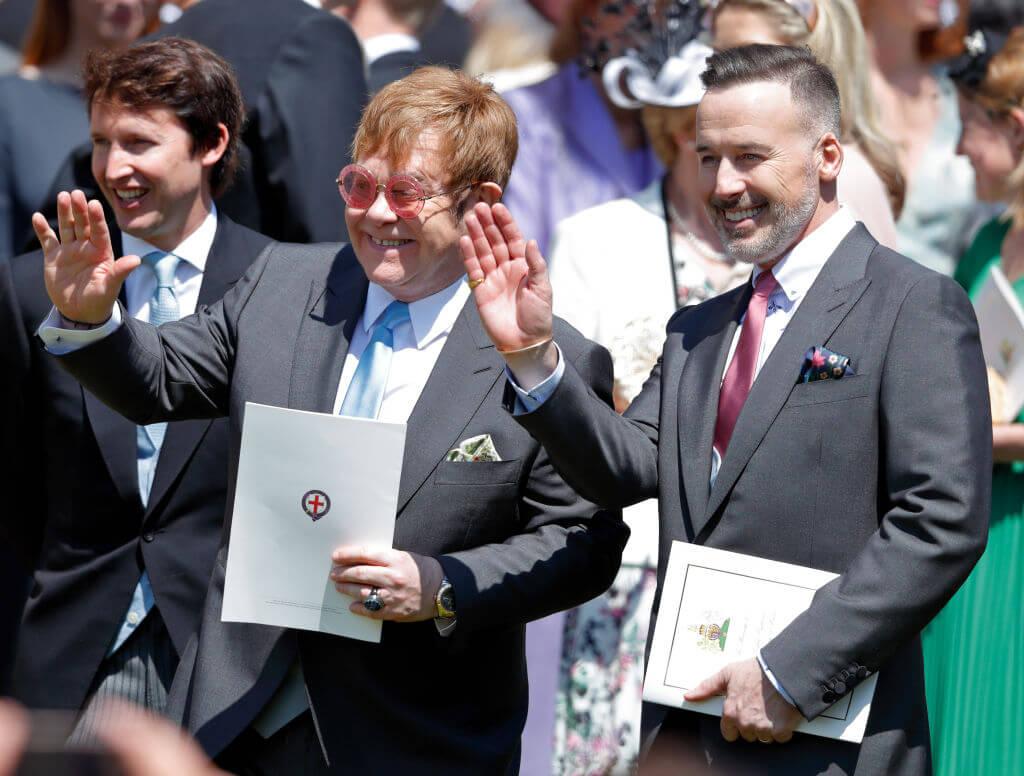 Sir Elton John & David Furnish