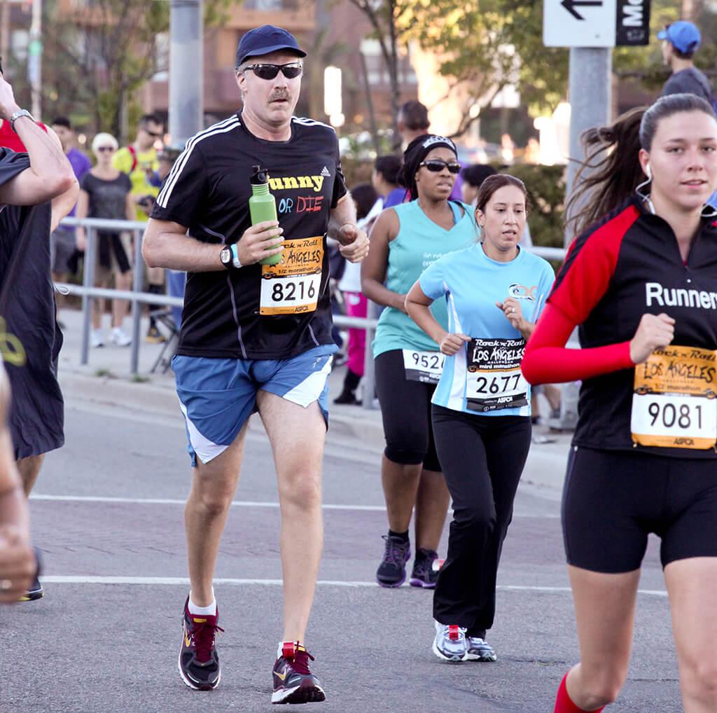 Will Ferrell Runs Marathons