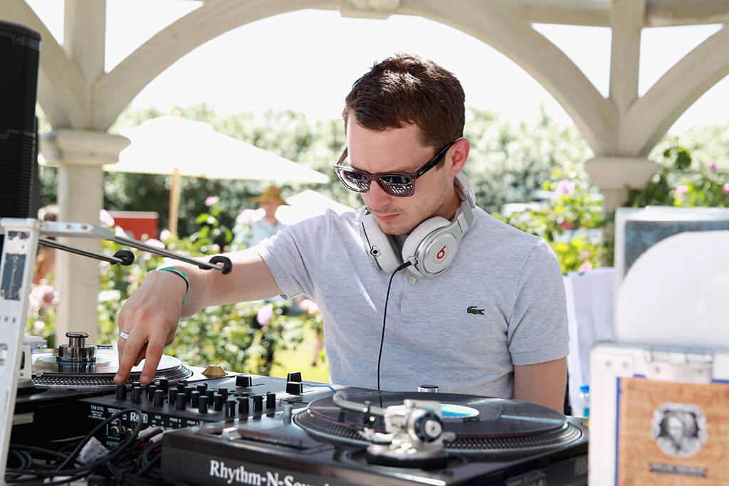 Elijah Wood is a DJ and Owns a Record Label