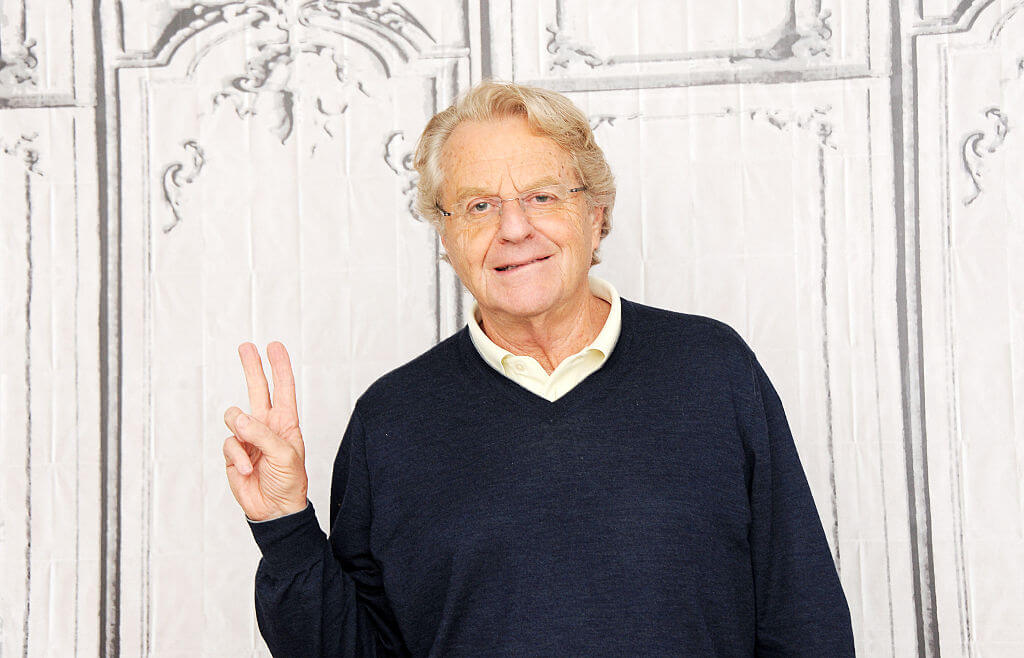 Jerry Springer is a Lawyer and Politician