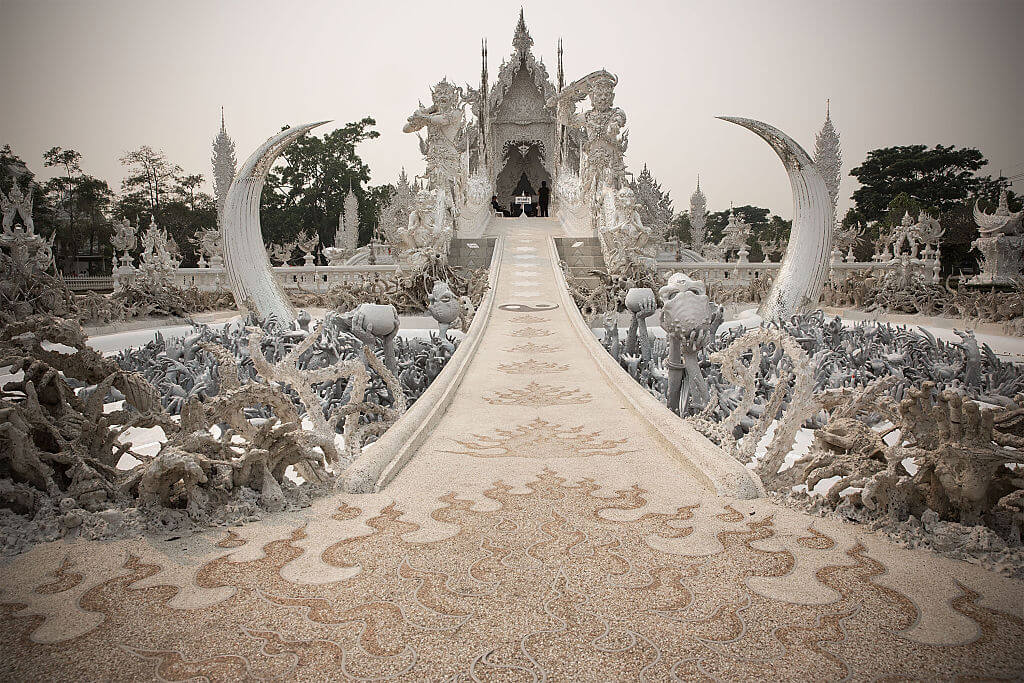The White Temple in Chiang Rai, Thailand
